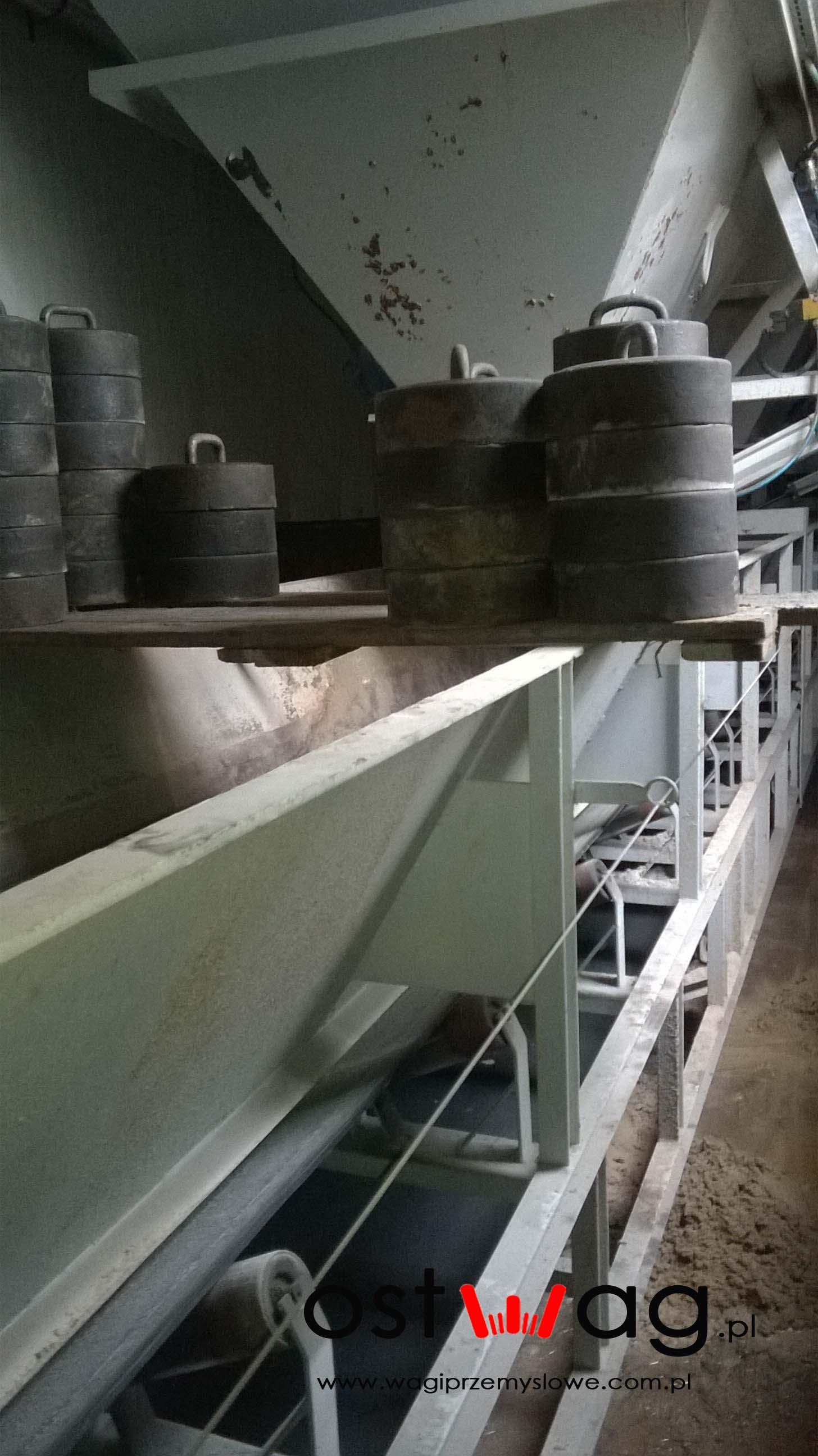 Wzorcowanie wag na węźle betoniarskim