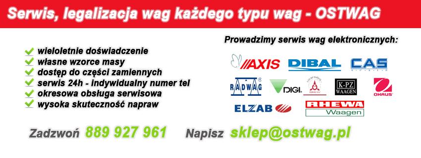 Naprawa wag elektronicznych Ostrołęka, Łomża, Białystok.
