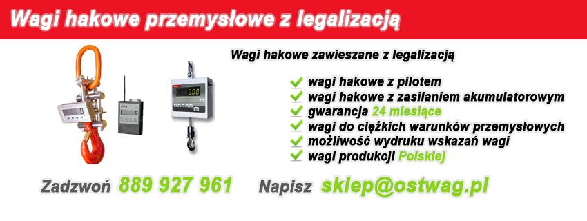 Wagi hakowe legalizowane, wagi hakowe z legalizacja